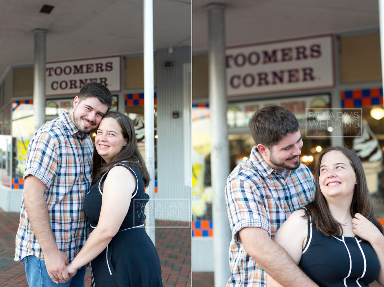 toomer's drugs engagement session