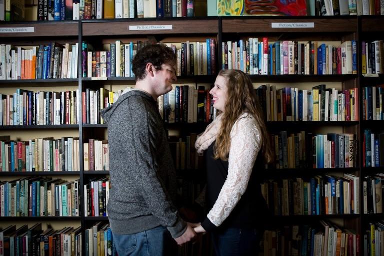 bookstore engagementa