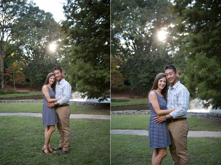 atlanta park engagement