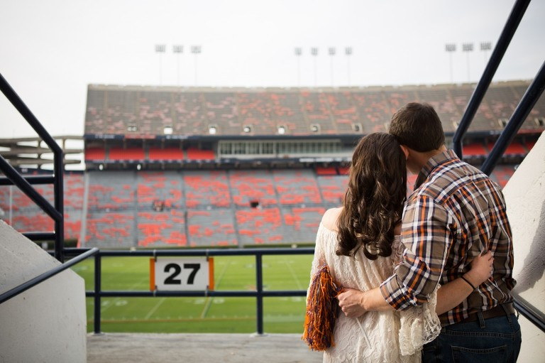 Jordan Hare Tunnel Engagement