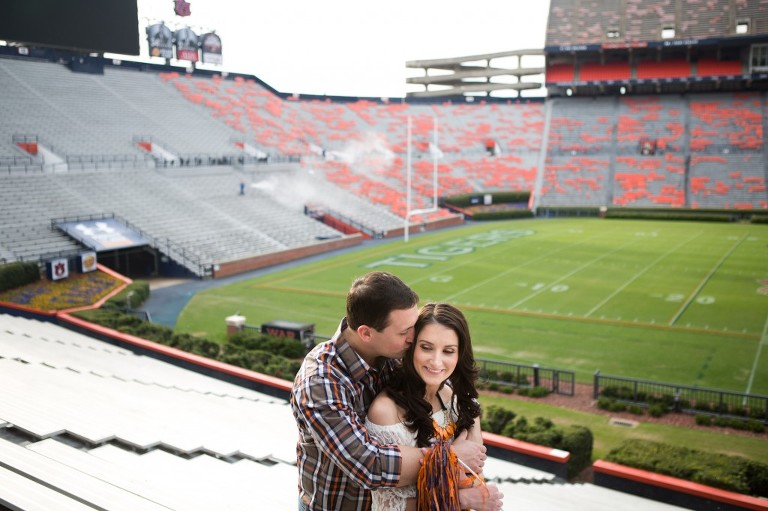 Jordan Hare stadium session
