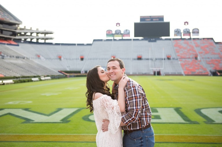 Pat Dye Field Engagement