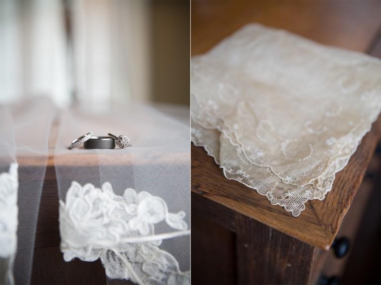 bridal heirloom handkerchief