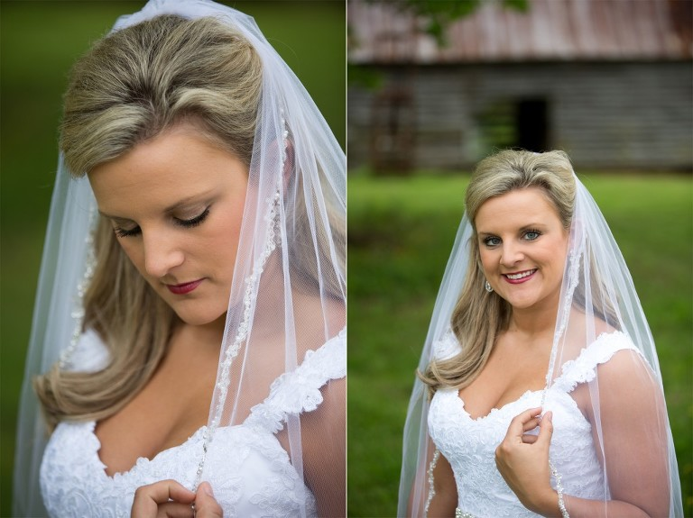 southern bridal session