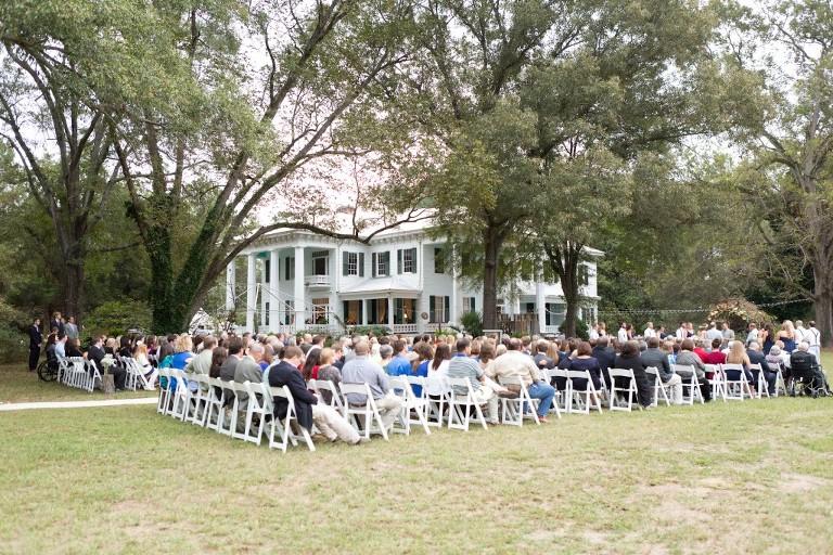 antebellum home wedding