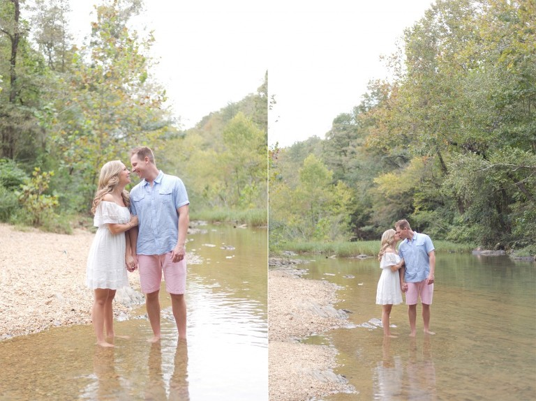 creek couple session