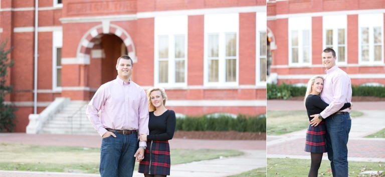engagement photos auburn university