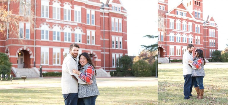Samford Hall engagement