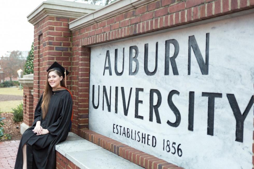 Auburn University Cap and Gown Session – Kaitlyn » Paula Davis ...