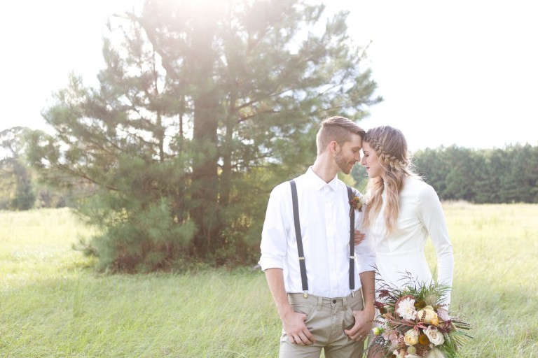 styled texas wedding