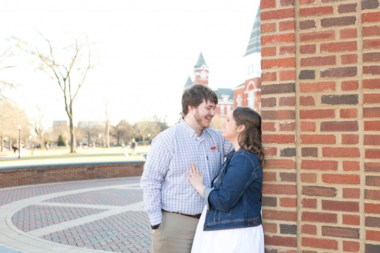 toomers corner engagement session