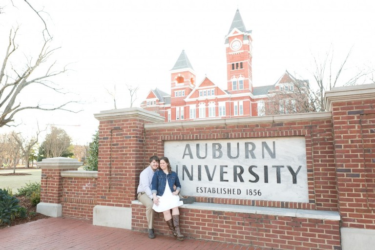 auburn university sign engagement