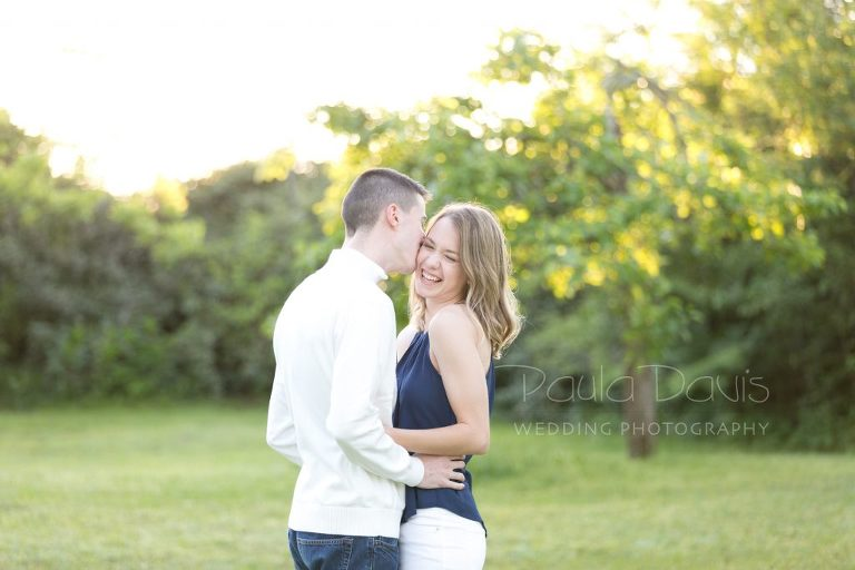 sunrise engagement session