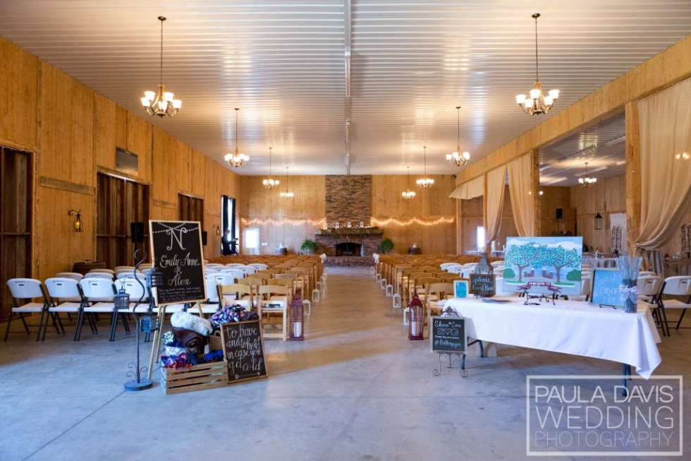 Rustic Barn Auburn Al Wedding Venue