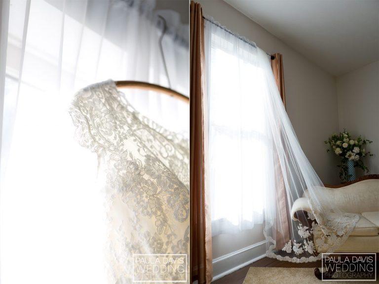 sentimental bridal veil