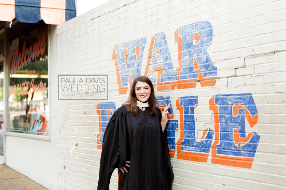 war eagle wall cap and gown