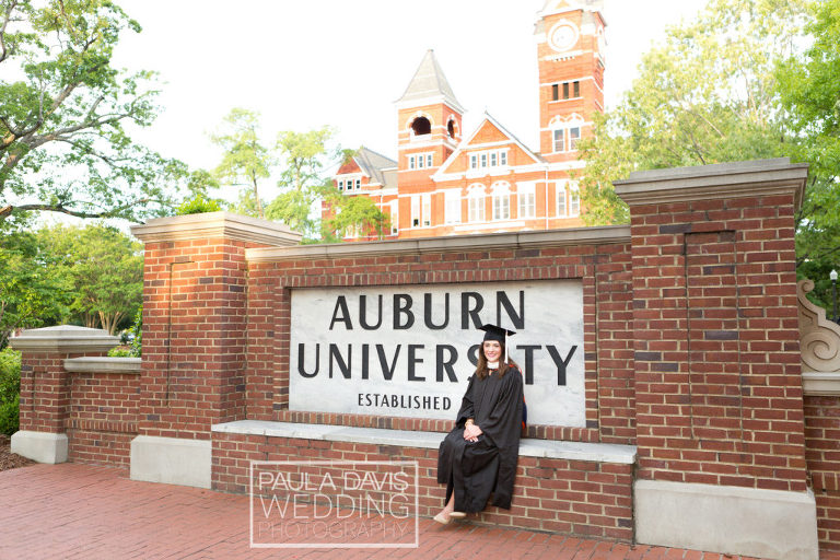 auburn graduation photographer