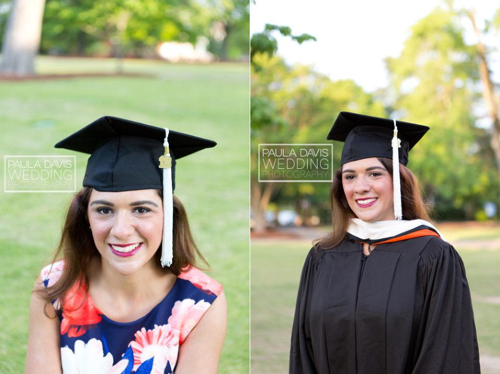 auburn cap and gown photographer