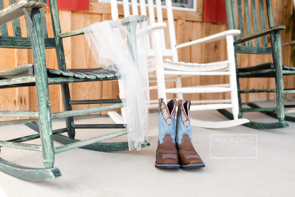 justin bridal boots with veil