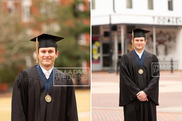 auburn university graduate standing at toomer's corner