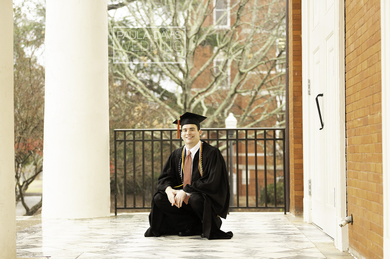 auburn cap and gown photography